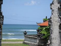 Echo Beach from Temple - Canggu, Bali (Annie Mole) Tags: bali echobeach canggu
