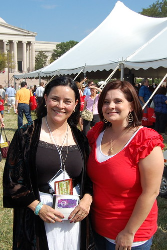 Me and Diana Gabaldon