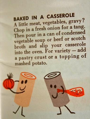 Ah ha! Baked in a casserole.