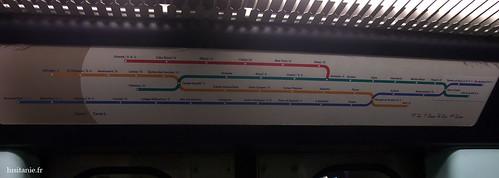 Mapa do metro