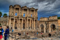 Celsus Library at Ephesus - Selcuk, Turkey (To Uncertainty And Beyond) Tags: turkey ruins roman trkiye turkiye selcuk ephesus efes turchia romanruins turkei