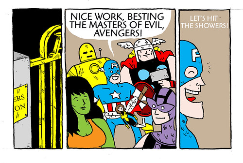 Little Avengers Mini-Comic