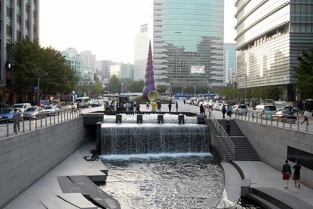 清溪川廣場