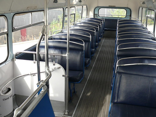 Heritage Bus for Train Chartering's rail events