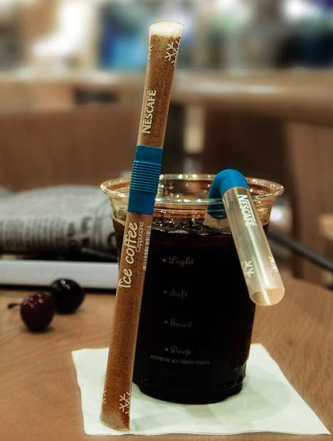 Nescafe Straw