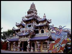 Linh Phuoc Pagoda (eric+x) Tags: 120 mamiya 645 slide fujifilm dalat vietname rvp100 protl