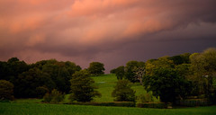 Golden Hour (Susan SRS) Tags: uk sunset england sky clouds skyscape landscape sussex gb goldenhour img6966 platinumphoto cloudslightningstorms 19oct2010