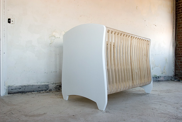 baby modern furniture nursery crib 4pli