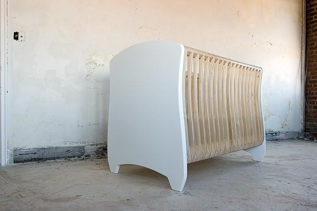 baby modern furniture nursery crib 4pli