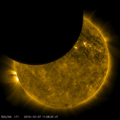 SDO Observed its First Lunar Transit