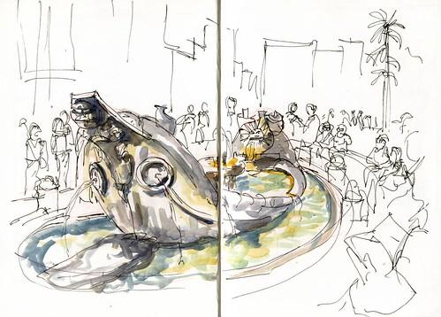 1001FR_03 A Bernini Fountain