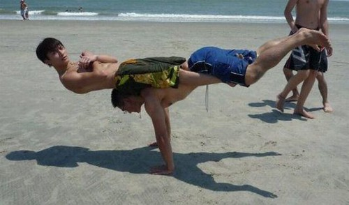 Boys balance