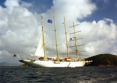 931201 Another Tallship (rona.h) Tags: december 1993 tallship stthomas virginislands cloudnine charlotteamelie ronah