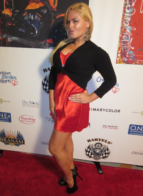 Tia Barr, Cosmic Starship by Jack Armstrong, Red Carpet Bartels Harley Davison