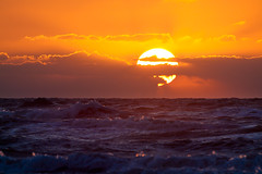 Sunrise Galveston (WRY Photo) Tags: galveston gulfofmexico sunrise