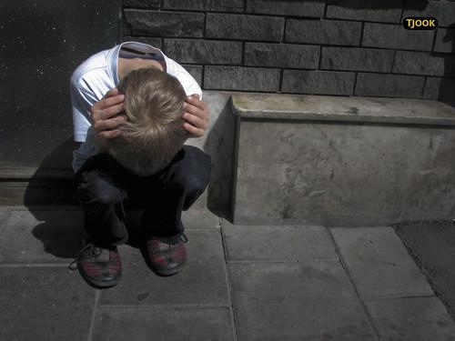 Depressed Boy by Tjook, on Flickr