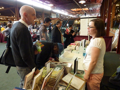 Daniel Clowes & Megan Kelso - Alternative Press Expo (APE), Oct. 16-17, 2010