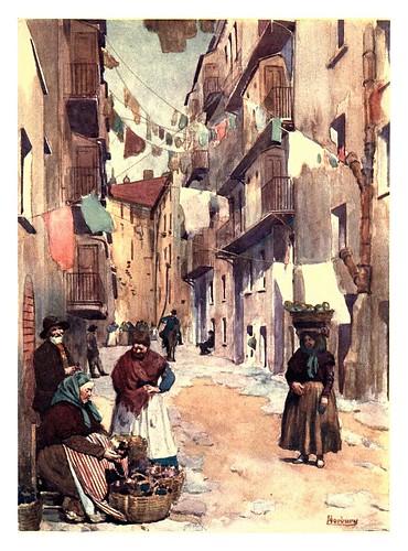 021- Casas en Ajaccio-Corsica-1909-Edwin A. Norbury