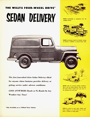 1955 Willys Four-Wheel-Drive Sedan Delivery