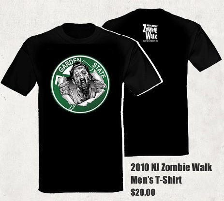 NJ Zombie T-Shirt