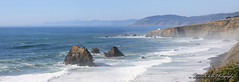 Coastal Pano 2 (Michellekiba) Tags: park panorama creek state sonoma roadtrip mendocino redwood prairie fortbragg californiacoast lostcoast hiway1 compositephotos californiaphotographer womeninphotography michellekibaphotography canond50user