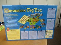 Carcassonne Big Box (2010): Rückseite