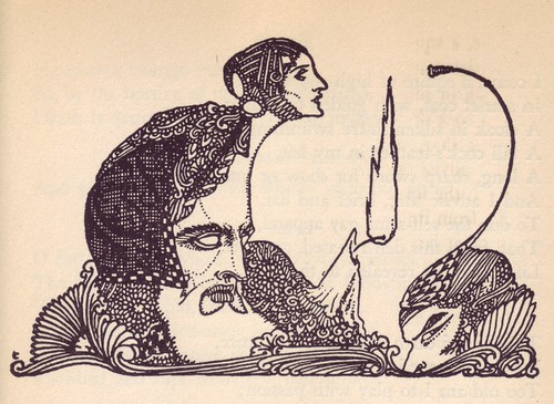 01 Harry Clarke, illus. for 1925 edition of Goethe's Faust