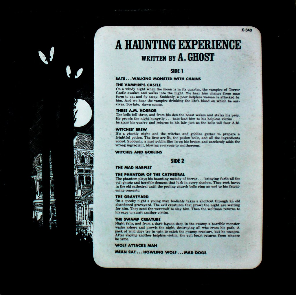 Ghostly Sounds back cover