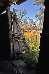 Accidental Attraction... (missnoma) Tags: door old outside decay shed property australia skirt inside maude norwood decadent shearingshed degradation magicunicornverybest nationalparksandwildlife