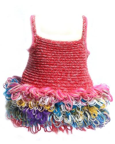 Moda infantil otoño-invierno 2010-2011, ropa de punto de Teeny Tini
