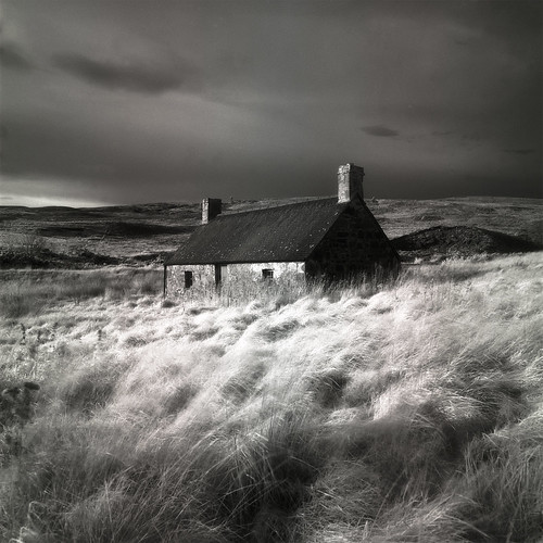Abandoned Croft III by michael prince