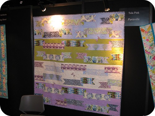 My Parisville quilt!!