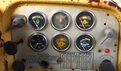 Control panel to the sun