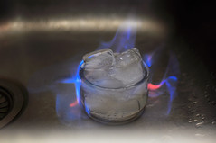 ice_in_flames (lupo.cordero) Tags: blue ice cup fire shot burning flame alcohol