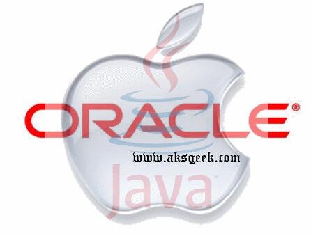 Oracle Java Apple