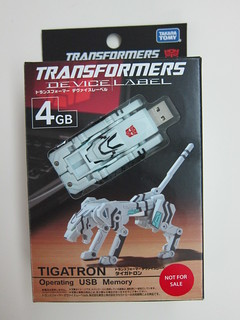 Transformers (Tigatron) USB Flash Memory Drive
