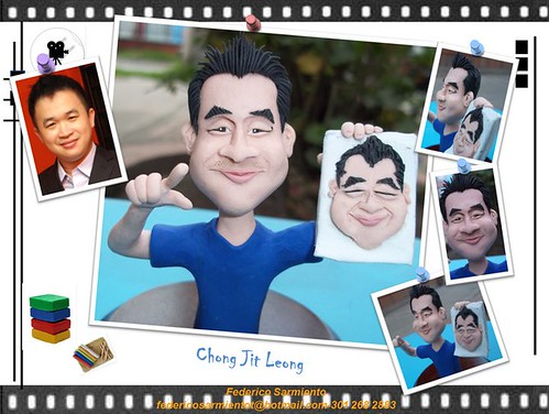My caricature figurine by El Erre Plastilina