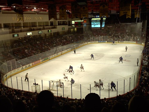 DU Hockey game