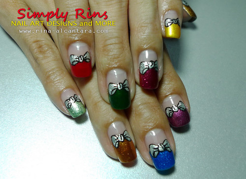 Nail Art Christmas Gift Boxes 11