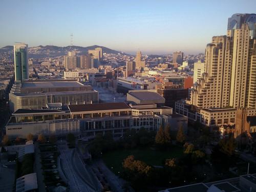 Morning over San Francisco