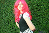 (xjess117) Tags: pink hair blood arm gore amputee