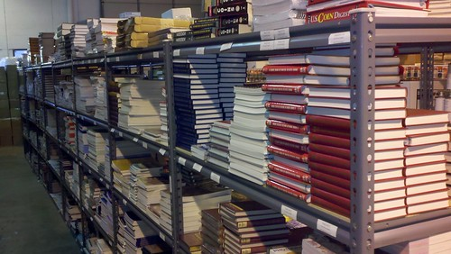 Wizard Coin Supply warehouse book aisle1