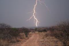 Street lightning, Erongo Wilderness Lodge, Namibia (ronmcbride66) Tags: street night bush day illumination lightning wilderness namibia lightningstrike streetlighting forkedlightning erongo thornscrub erongowilderness