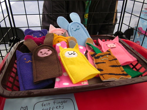 Finger Puppets that I made.