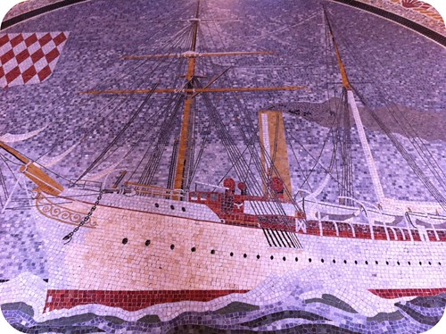 ship mosaic