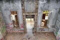 Verengaria abandoned hotel (Mike G. K.) Tags: old windows abandoned crust hotel nikon rust raw decay flash cyprus graffitti hdr ruined photomatix berengaria prodromos verengaria 1exp d5000