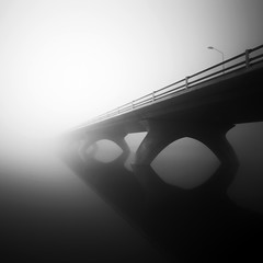 It was a small world today (Kees Smans) Tags: longexposure bridge bw white black art water netherlands fog fineart nd nik vanishing gelderland betuwe riverrhine floodplain daytimelongexposure nederrijn lexkesveer nd110 blackandwhitefineart keessmans 2010keessmans blackandwhitelongtimeexposure wwwbwfineartcom bwnd11010stopfilter 100faveslebw
