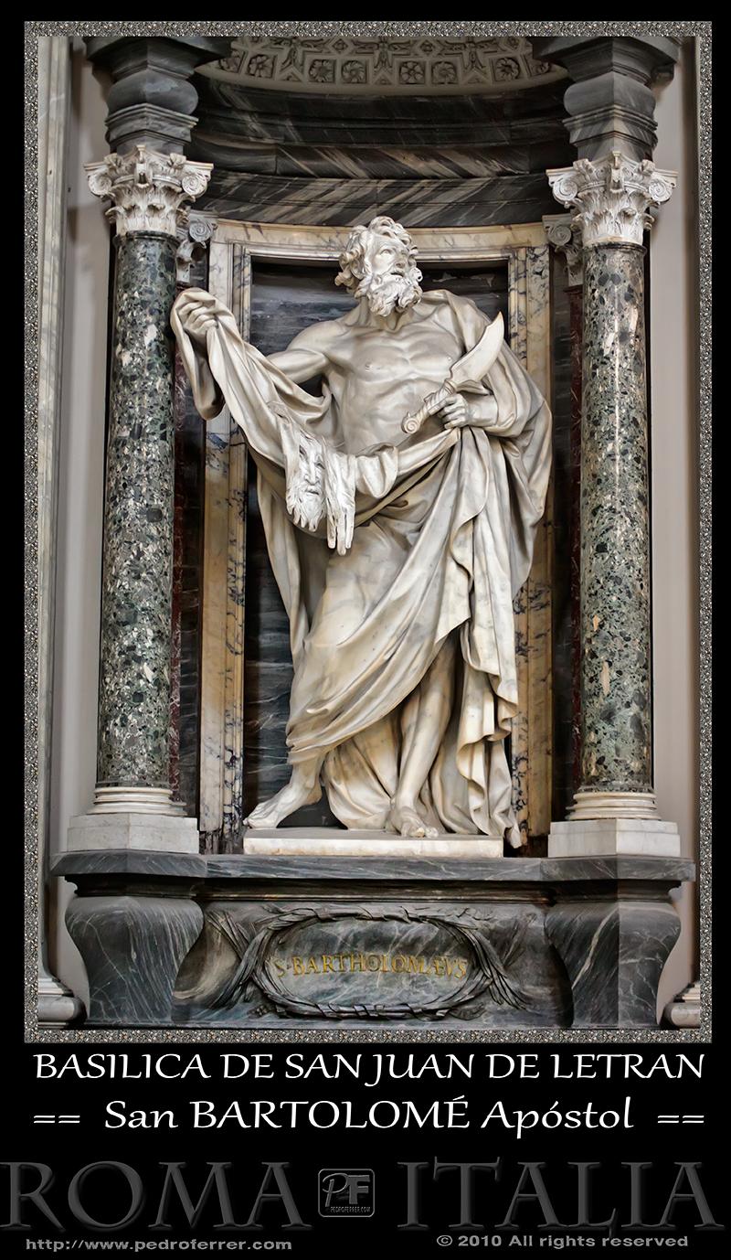 Roma - Basílica de San Juan de Letrán - San Bartolomé Apóstol
