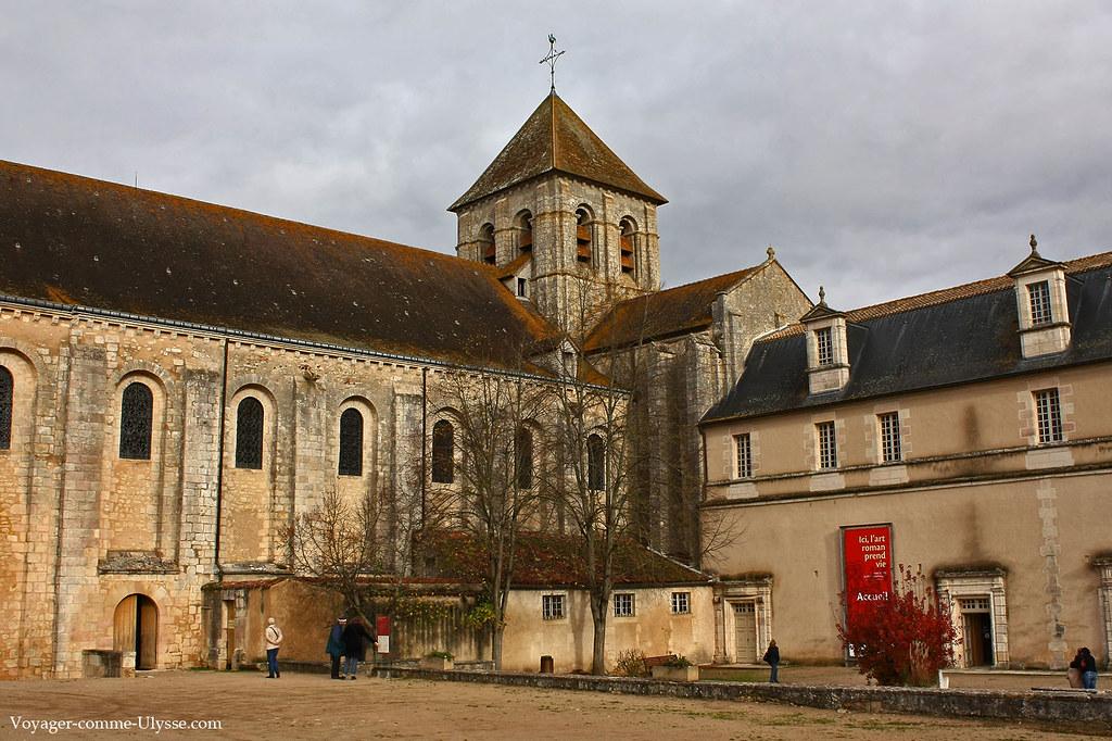 Vue extérieure de l'Abbaye