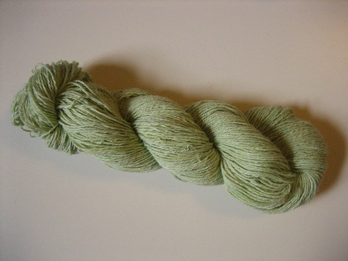 I spun cotton sliver!